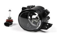 Mercedes C Class W204 07-10 Black Front Fog Light Lamp Left Passenger With Bulb