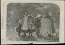 "1868 FINE ART LONDON ""Fancy Free"" L. Smythe French Gallery Pall-Mall    (140)"