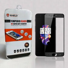 Ultimate Shield 3d Full Adhesive Tempered Glass Screen Protector for OnePlus 5