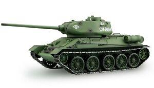 RC Panzer T-34/85 1:16 Schuss, Rauch und Sound 2,4 GHz