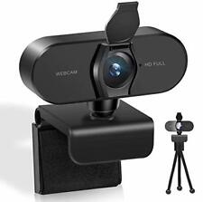 Webcam HD 1080P  Mikrofon PC Streaming Recording Meetings Home Office Videocall