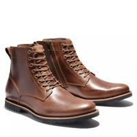 Timberland Men Kendrick Waterproof Side Zip Boots Full Grain Leather