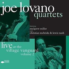 Joe Lovano - Quartets: Live At The Village Vanguard Vol. 2 (NEW 2 VINYL LP)
