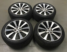 """USED 20"""" GENUINE RANGE ROVER SPORT AUTOBIOGRAPHY ALLOY WHEELS  TYRES POLISHED"""