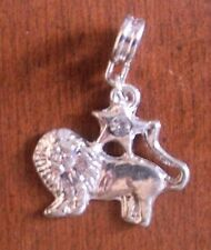Pendentif signe zodiaque lion