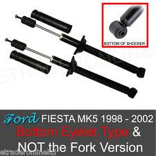 Ford Fiesta MK5 Rear Shock Absorbers x 2 1999 -2002 Pair Shockers Dampers Shocks
