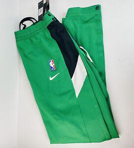 Nike NBA Boston Celtics Therma Flex Showtime Tearaway Green Pants Size XXLTT