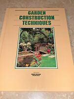 Grolier's Home Owning Made Easy GARDEN CONSTRUCTION TECHNIQUES Book