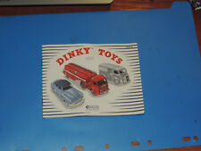 CATALOGUE DINKY TOYS Atlas 1954  NEUF !!