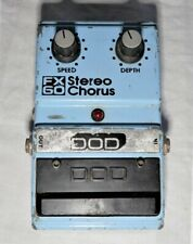 DOD FX-60 Stereo Chorus Guitar Effects Floor Foot Pedal