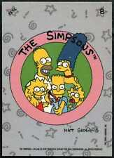 The Simpsons #8 The Simpsons 1990 Topps Sticker (C1411)