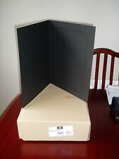 Spicer Hallfield Carnival Black A4 Mounts Stock Code 22833 Boxes of 50