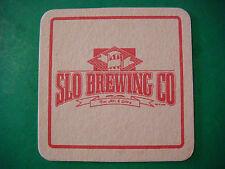 Older Beer Brewery COASTER ~*~ SLO Brewing Company ~ San Luis Obispo, CALIFORNIA