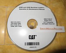SEBU7399 Caterpillar 420D 430D Backhoe Loader Operation Maintenance Manual CD