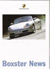 Porsche Boxster noticias folleto Jm