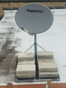 Pre-Owned Hughes Net Satellite Dish w/ Stand and Blocks-Gen 5-Local Pick Up Only