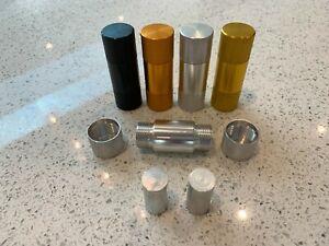 Small Pocket Pollen Press - Durable Aluminum Metal - Resin Press Herb Tobacco