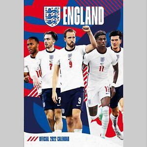 England Mens Football 2022 A3 Wall Calendar