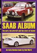 Book - Saab Album - Saab Cars 95 96 99 900 9-3 Scania Trucks Buses - Auto Review