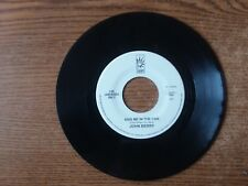 1980S EXC+RARE John Berry MORE THAN JUST A LITTLE/ Kiss Me In The Car  17518  45
