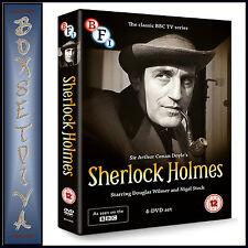 SHERLOCK HOLMES - CLASSIC BBC SERIES - 4 DVD COLLECTION -   **BRAND NEW DVD ***