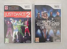 Just dance 2 wii et les black eyed peas experience wii