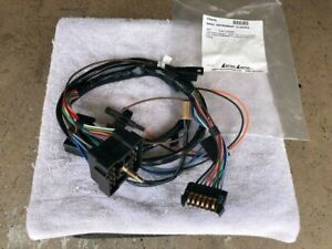 1971 Camaro Dash Instrument Cluster Harness w/Gauges, Brand New, Lectric Limited