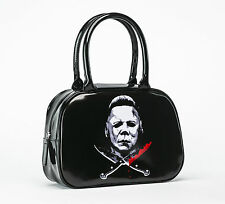 Rock Rebel Michael Myers Halloween II Cross Knives Handbag Purse