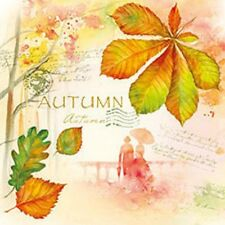 Servietten 20, Serviettentechnik Greetings Herbst Ambiente 33 x 33