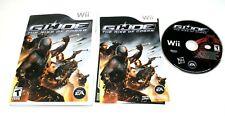 G.I. Joe: The Rise of Cobra (Nintendo Wii, 2009)  *Clean CD*