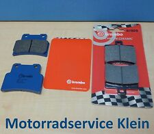 Original Brembo Bremsbeläge Satz vorne und hinten für Aprilia RS 125 2006-2013