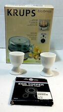 Krups Egg Express F230 Cooker Boiler Poacher 7 Eggs Hard Soft Boil NEW IN BOX