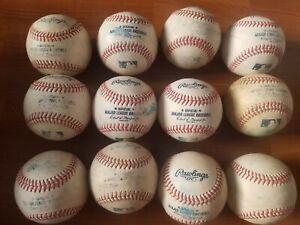 Lot of 12 Rawlings Official Major ROMLB League Baseballs MLB Manfred. Dozen used