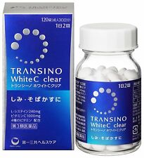 NEW Transcino White C clear 120 tablet 30days for Melanin Spots Freck From JP
