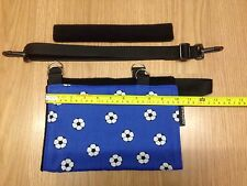 Kids Arm Sling Childs BLUE FOOTBALL supprt/sling broken arm/wrist Collar bone