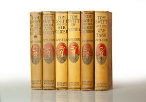 Tom Swift by Victor Appleton 6 Volume Set