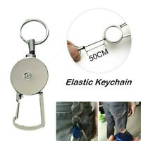 Retractable Anti-Lost Secure Keychain Multifunctional Carabiner