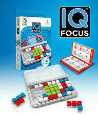 SmartGames IQ Focus Cognitive Skill-Building Travel Game Ages 8+ New