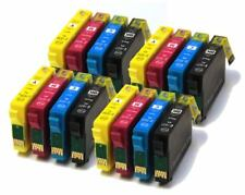 16 XL Cartuchos De Tinta Para Epson Workforce WF-2520NF WF-2630WF WF-2750DWF