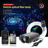 LED Sternenhimmel Lichtfaser RGBW 12W Glasfaser Beleuchtung APP Fernbedienung