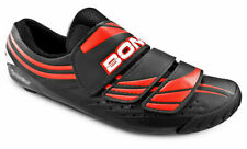 K) NIB Bont Cycling Shoes A-3 A3 Moldable Red & Black Size 40 US 6.5