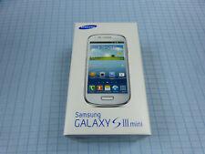 Samsung Galaxy S3 / SIII mini GT-I8190 8GB Weiß! Ohne Simlock! TOP ZUSTAND! OVP!