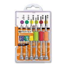 VESSEL precision screwdriver 6pcs TD-56S From Japan