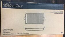 Pampered Chef Executive Nonstick Double Burner Grill # 2924 New in Box