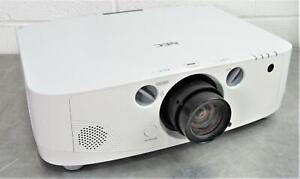 NEC NP-PA500U Full HD 1920x1200 WUXGA 1080P Theatre Projector Lamp Hours 224