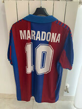 maglia camiseta Barcelona 1980 Maradona no match worn Barcellona shirt jersey