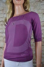 NWT DOLCE & GABANNA Logo T-Shirt Top Size Medium Bordeaux