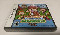Camping Mama: Outdoor Adventures (Nintendo DS, 2011) NEW