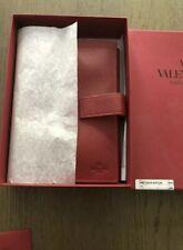 Véritable rare Valentino Leather Diary cover neuf non utilisé