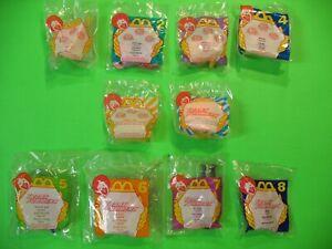 1996 McDonalds - Littlest Pet Shop / Transformers set of 8+2U3*MIP*